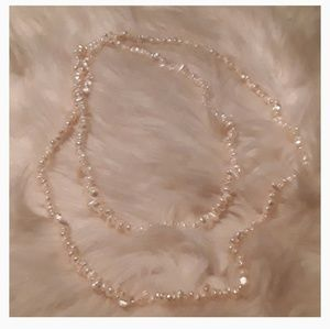 "Jewelry - Gorgeous 17"" Fresh Water Pearl Necklace"